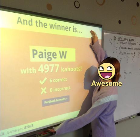 Kahoot! A Great Formative Freebie   MathyCathy's Blog – Mrs  Cathy Yenca