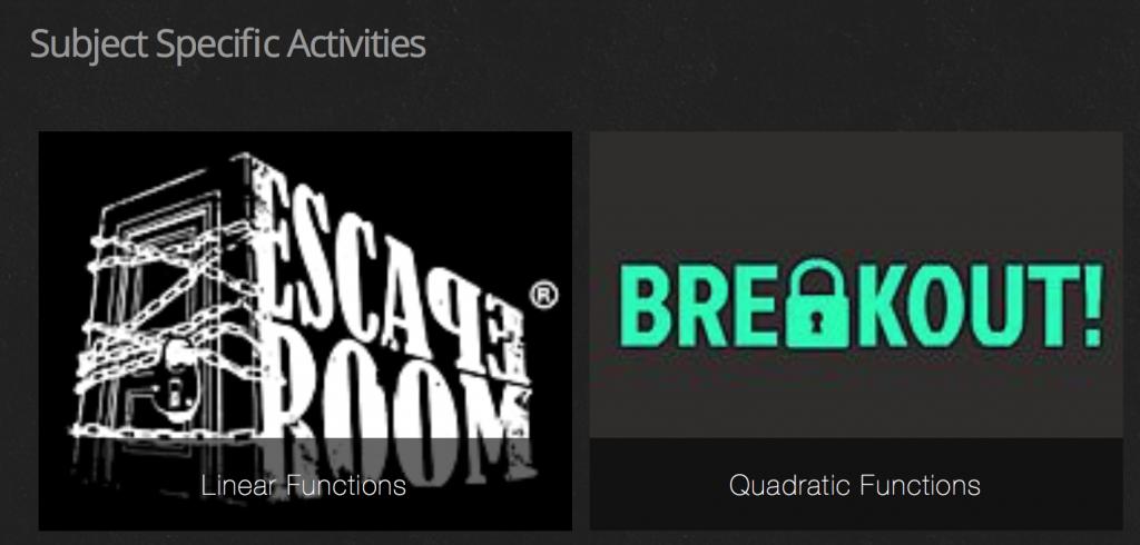 "Desmos Breakout ""Escape Room"" Activities = Amazing Review"