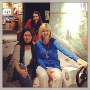 Who's in the Driver's Seat?  Apparently, none of us!  At the NOLA Aquarium