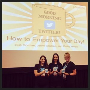 Teaching folks how to use Twitter for PD and in the classroom - with @techgirljenny and @sjgorman